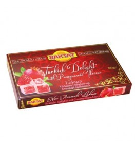 BAKTAT Lokum-Turkish Delight Grenade 12x400g